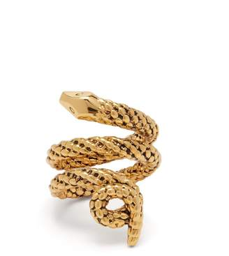 Aurelie Bidermann Tao gold-plated brass ring