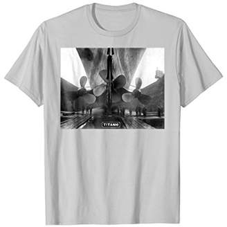 RMS The Titanic T-Shirt | The Titanic Cruise Ship Propellers