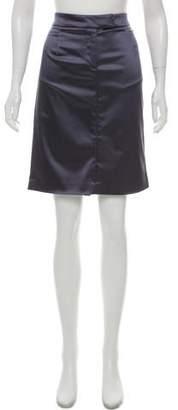 Galliano Knee-Length Pencil Skirt
