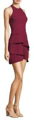 BCBGMAXAZRIA Tiered Sheath Dress