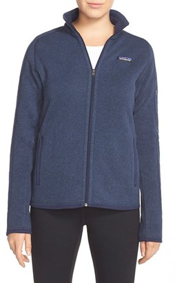 Women's Patagonia 'Better Sweater' Jacket $139 thestylecure.com