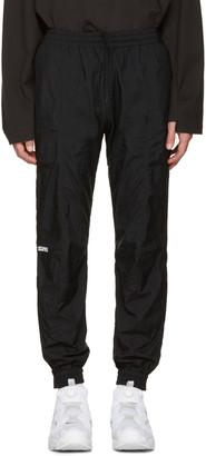 Vetements Black Reebok Edition Biker Track Pants $860 thestylecure.com