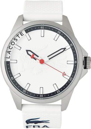 Lacoste 2010858 Silver-Tone & White Watch