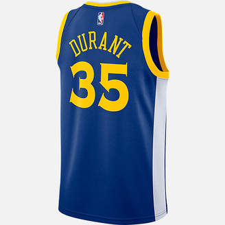 Nike Men's Golden State Warriors NBA Kevin Durant Icon Edition Connected Jersey