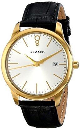 Azzaro メンズaz2040.62sb。000 Legendアナログディスプレイスイスクォーツブラックウォッチ