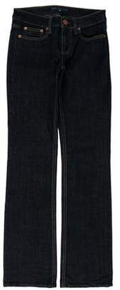 Marc by Marc Jacobs Mid-Rise Straight-Leg Jeans