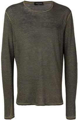 Roberto Collina striped long sleeve top