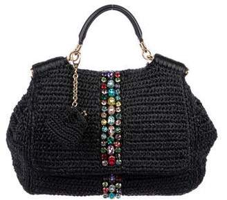 Dolce And Gabbana Straw Bag - ShopStyle cde1a27d9cb