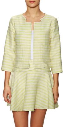 BCBGeneration Tweed Striped Blazer