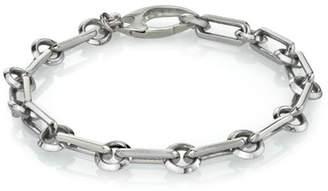 Mr. Lowe Men's Long Link Chain Bracelet, Size M