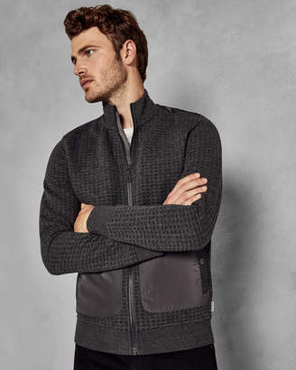 Ted Baker NARN Quilted funnel neck jacket