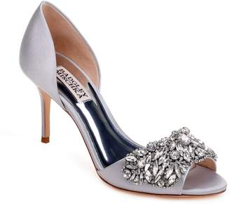 Badgley Mischka Collection Hansen Crystal Embellished Sandal