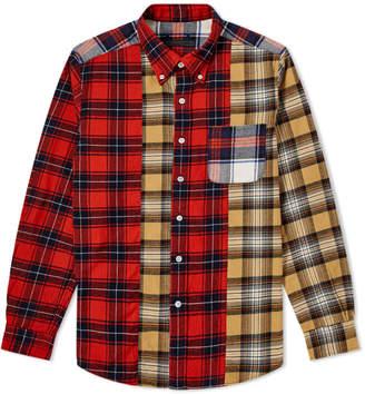 Sophnet. SOPHNET. Mix Flannel Check Shirt