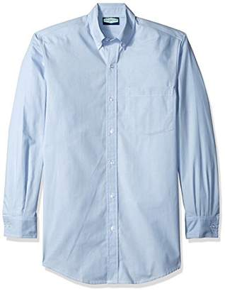 Classroom Uniforms Classroom Men's Long Sleeve Oxford Shirt