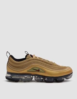 Nike Air Vapormax '97 Sneaker in Metallic Gold