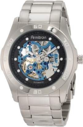 Armitron Men's 204406BISV Automatic -Tone with Black and Blue Accents Dress Watch
