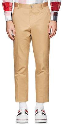 Thom Browne Men's Cotton Twill Classic Trousers