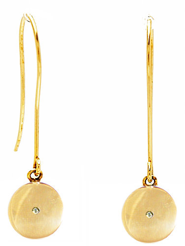 Ariel Gordon Jewelry :: Circle Dangle Earrings