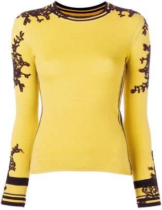 Ermanno Scervino lace-embroidered jumper