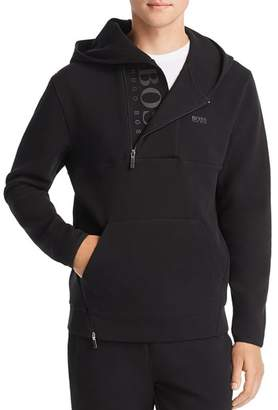 BOSS Asymmetric Quarter-Zip Sweatshirt