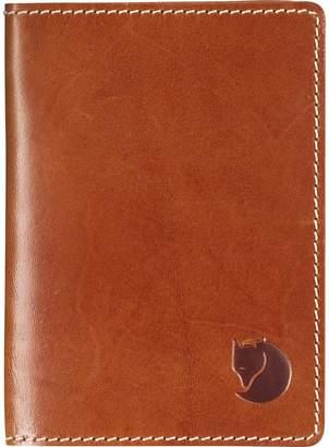 Fjallraven Leather Passport Cover - Men's