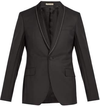 Bottega Veneta Chain-embellished houndstooth blazer