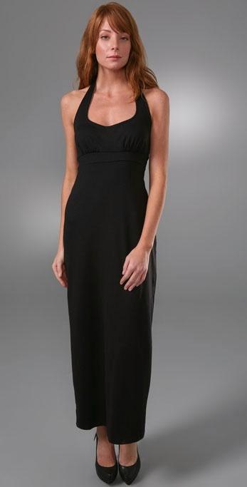 Susana Monaco Slim Halter Dress