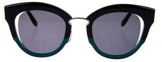 Salvatore Ferragamo Tinted Cat-Eye Sunglasses w/ Tags