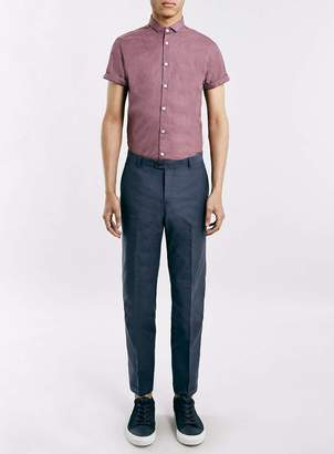 Selected HOMME'S Blue Cropped Trousers