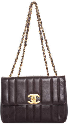 Chanel Vertical Quilted Leather Maxi Single Flap Bag
