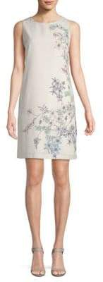 Vince Camuto Botanical Floral Sheath Dress