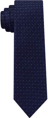 DKNY Men Kelly Neat Slim Silk Tie