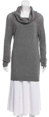 Allude Cashmere Cowl-Neck Sweater