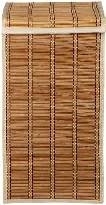 Honey-Can-Do Tall Bamboo Wicker Weave Hamper