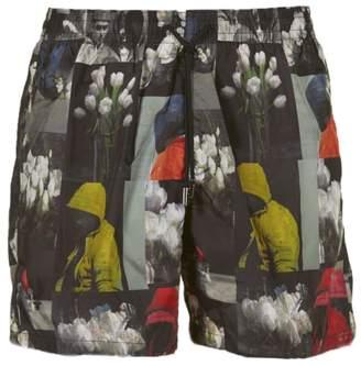 Christian Dior Printed Shorts