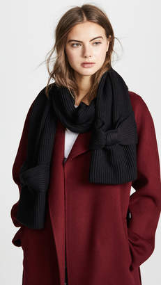 Kate Spade Solid Bow Muffler Scarf