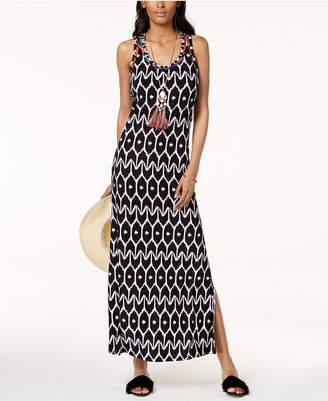 INC International Concepts Trina Turk x I.n.c. Ikat Print Maxi Dress, Created for Macy's