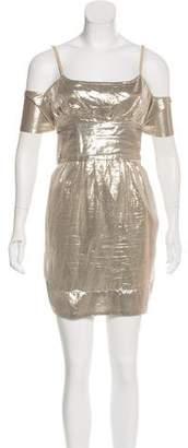 Stella McCartney Silk Metallic Dress