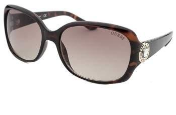 Guess Women's Square Havana Sunglasses