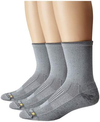 Drymax Sport Lite Hiking Crew 3-Pair Pack Quarter Length Socks Shoes