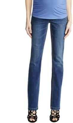 Jessica Simpson Motherhood Maternity Petite Secret Fit Belly Skinny Boot Maternity Jeans