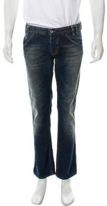 Dolce & Gabbana Oil Stain Skinny Jeans