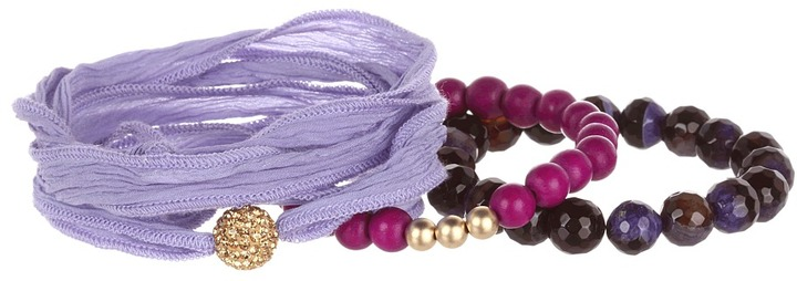 The Cool People Dee Berkley for Purple Haze Bracelet (Purple) - Jewelry