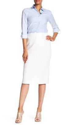 St. John Hemp Knit Pencil Skirt