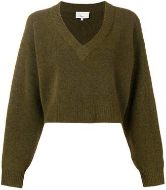 3.1 Phillip Lim cropped fitted sweater