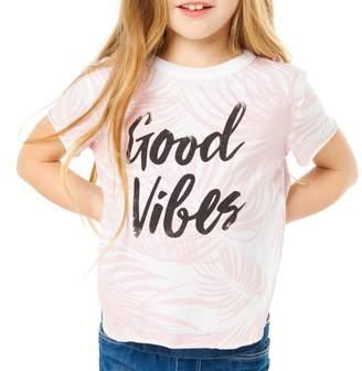 Chaser Toddler Girl's Good Vibes Tee