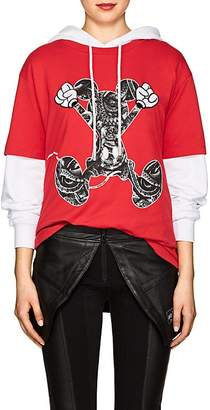 Marcelo Burlon County of Milan Women's Mickey Mouse Cotton T-Shirt
