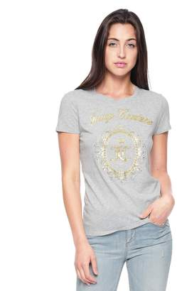Juicy Couture Velour Enchanted Cameo Classic Short Sleeve Tee