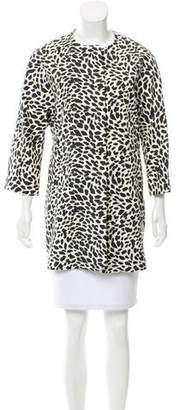 Gerard Darel Printed Lightweight Coat