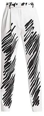 Moschino Women's Scribble Print Pants